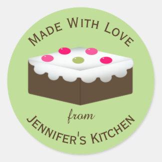 Brownie Custom Baked Goods Sticker