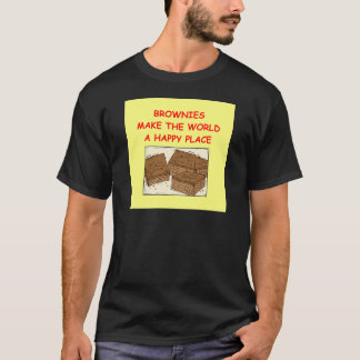 """""""brownie"""" de """"brownie"""" t-shirt"""