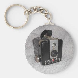 Brownie Hawkeye Camera Basic Round Button Keychain