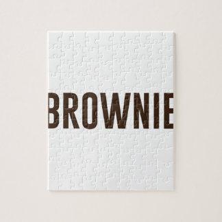 Brownie Jigsaw Puzzle