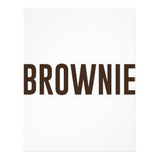 Brownie Letterhead