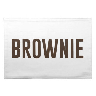 Brownie Placemat