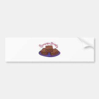 Brownie Points Bumper Sticker