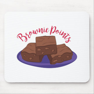Brownie Points Mouse Pad