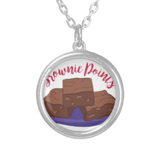 Brownie Points Silver Plated Necklace