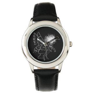 Brownie Sketch Elegant Fairy Tale Fantasy Artistic Watch