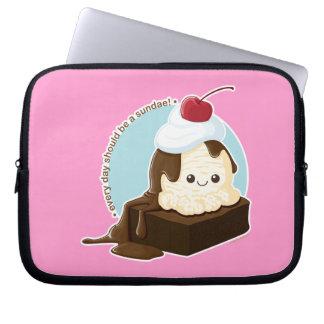 Brownie Sundae Laptop Sleeve