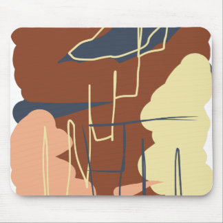 Brownie Town Colors Mouse Pad