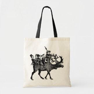 Brownies riding Reindeer