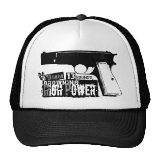 Browning Hi-Power Mesh Hats