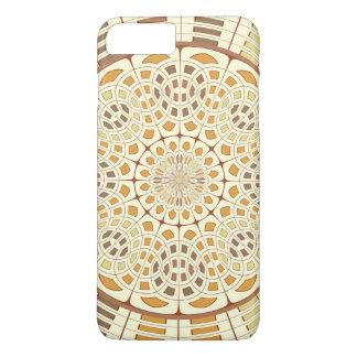 Brownish mandala iPhone 7 plus case