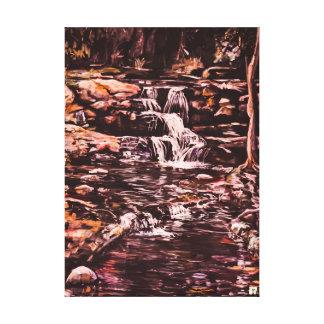 Brown's Falls Upper cascades Canvas Print