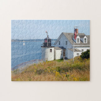 Browns Head Lighthouse, Maine Jigsaw Puzzle
