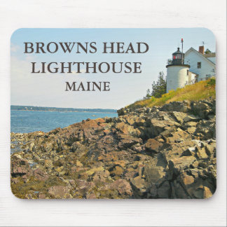 Browns Head Lighthouse, Maine Mousepad