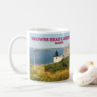 Browns Head Lighthouse, Maine Mug