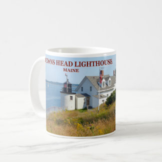 Browns Head Lighthouse, Maine Mug