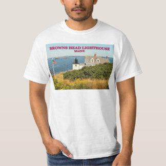 Browns Head Lighthouse, Maine T-Shirt