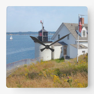 Browns Head Lighthouse, Maine Wall Clock