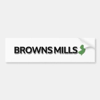 Browns Mills, New Jersey Bumper Sticker