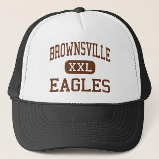 Brownsville - Eagles - High - Brownsville Texas Trucker Hat