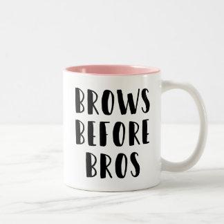 Brows Before Bros Makeup Mug