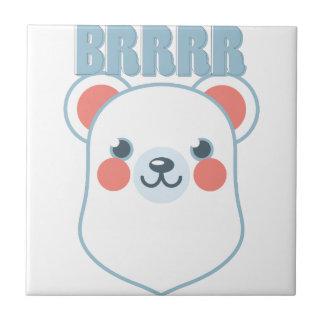 Brrrr Bear Ceramic Tiles