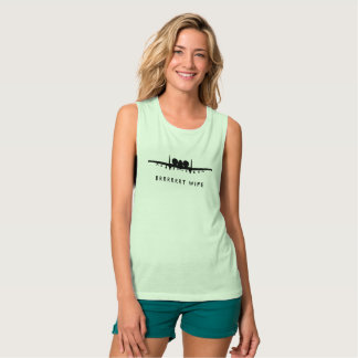 BRRRRT Wife A-10 Warthog Jet with Custom Text Tank Top
