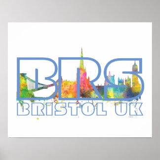 BRS BRISTOL UK - Poster