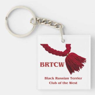BRTCWest Acrylic Keychain