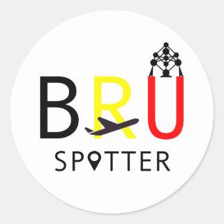 BRU Spotter Classic Round Sticker