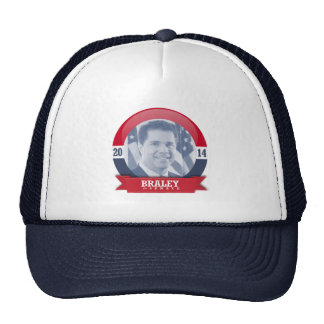BRUCE BRALEY CAMPAIGN MESH HATS