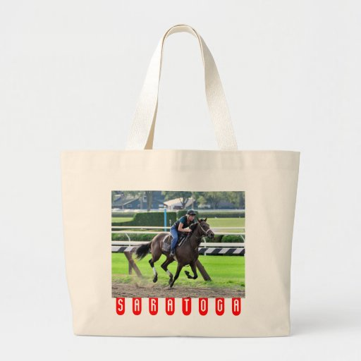 Bruce Brown Workouts at Saratoga Canvas Bag