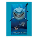 Bruce, Chum, and Anchor Poster