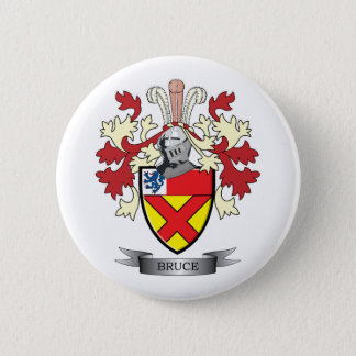 Bruce Family Crest Coat of Arms 2 Inch Round Button