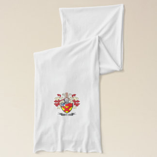 Bruce Family Crest Coat of Arms Scarf