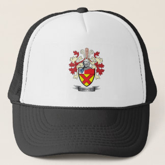 Bruce Family Crest Coat of Arms Trucker Hat