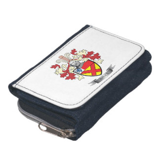 Bruce Family Crest Coat of Arms Wallets
