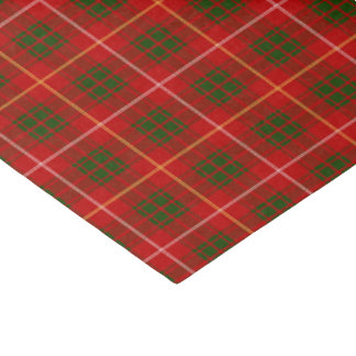 Bruce Family Tartan Pattern Tissue Paper