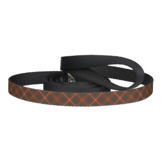 Bruce Family Tartan Red and Green Plaid Pet Lead