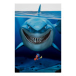 Bruce, Nemo and Dory 2 Poster
