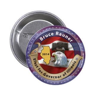 Bruce Rauner 2 Inch Round Button