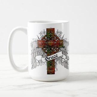 Bruce Tartan Cross Mug