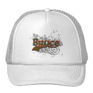 Bruce Tartan Grunge Trucker Hat