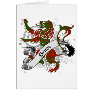 Bruce Tartan Lion Card