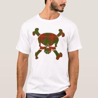 Bruce Tartan Skull No Banner T-Shirt