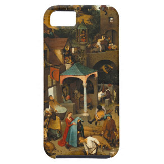 Bruegel Netherlandish Proverbs iPhone 5 Cover