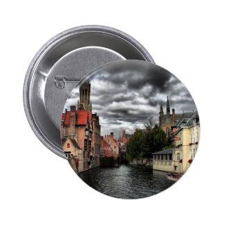 Bruges Belgium Pinback Button