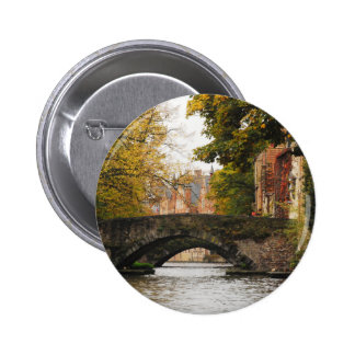 Bruges, Belgium Canals 2 Inch Round Button