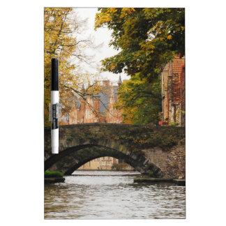 Bruges, Belgium Canals Dry-Erase Whiteboards