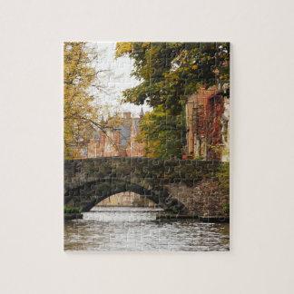 Bruges, Belgium Canals Puzzle